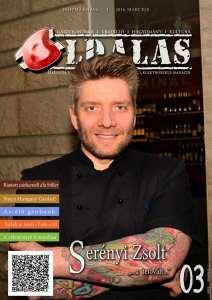Oldalas magazin 2016 március címlap, serényi zsolt