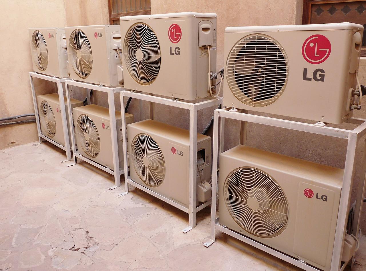 Klíma, légkondicionáló, oldalas magazin